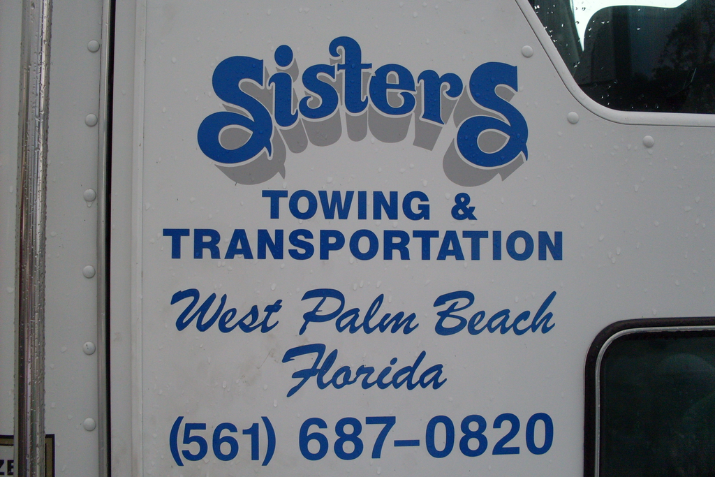 Sisters Towing West Palm Beach Florida