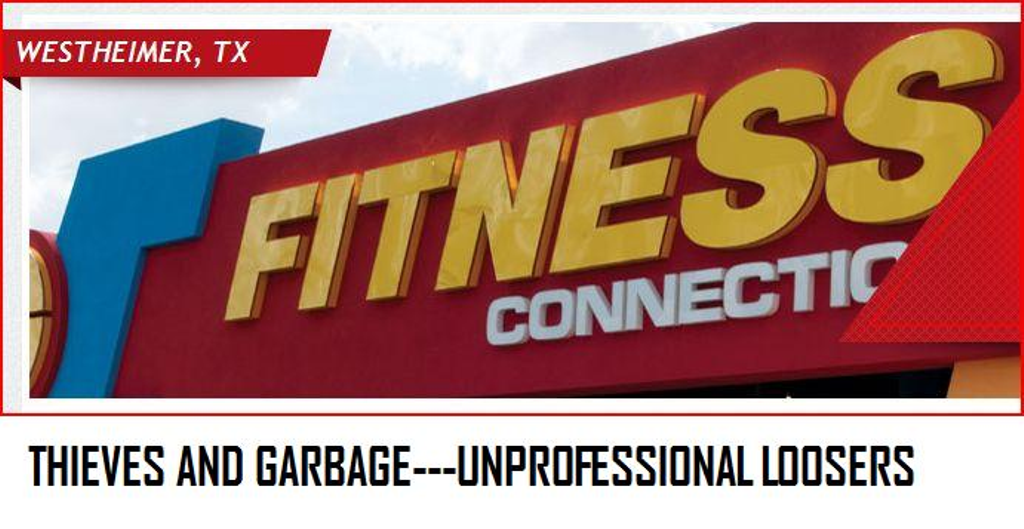 Fitness Connection Cancellation Texas