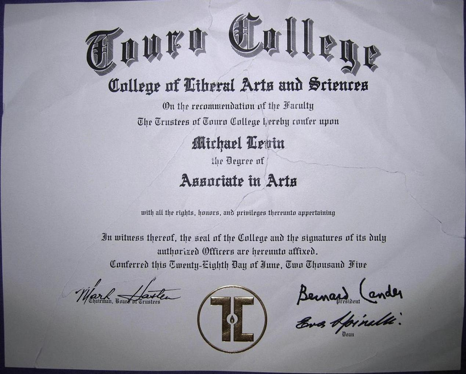 Liberal Arts Associate Degree City College Of New York
