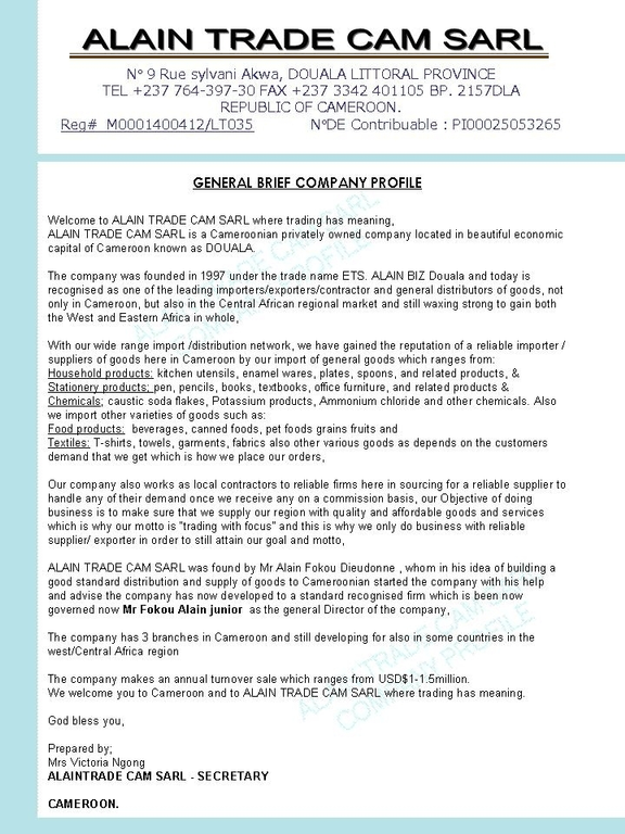Ripoff Report – Sample Business Reports for Students