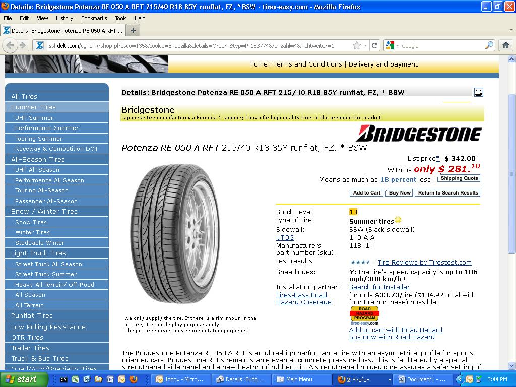 $500 for tires???