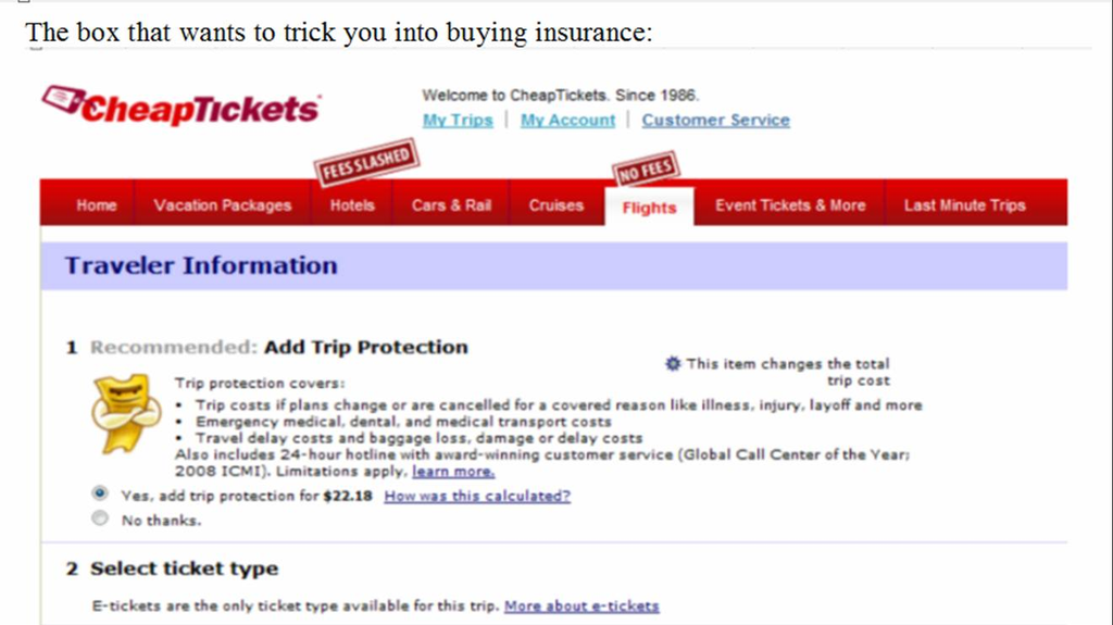 Ripoff Report | CheapTickets.com and Access America Complaint ...