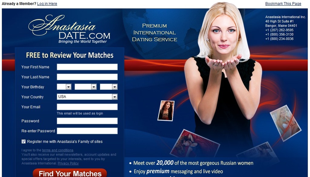 Dating sites in maine