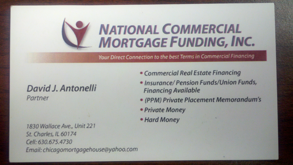 Commercial mortgage brokers chicago