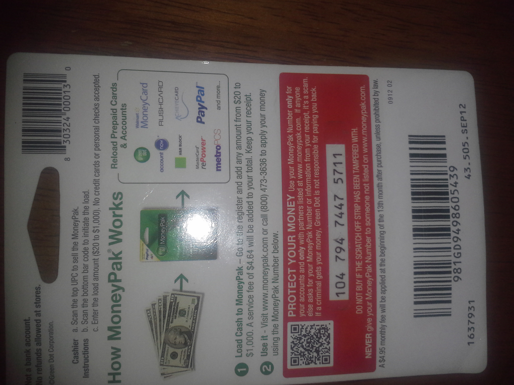 ripoff report greendot moneypak complaint review greenville this