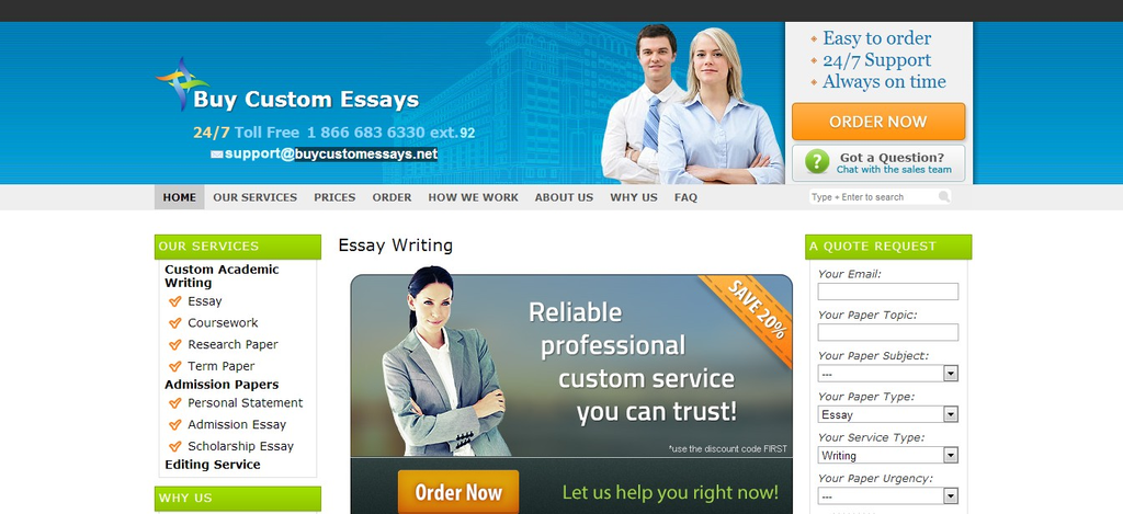 Buy coustm writing