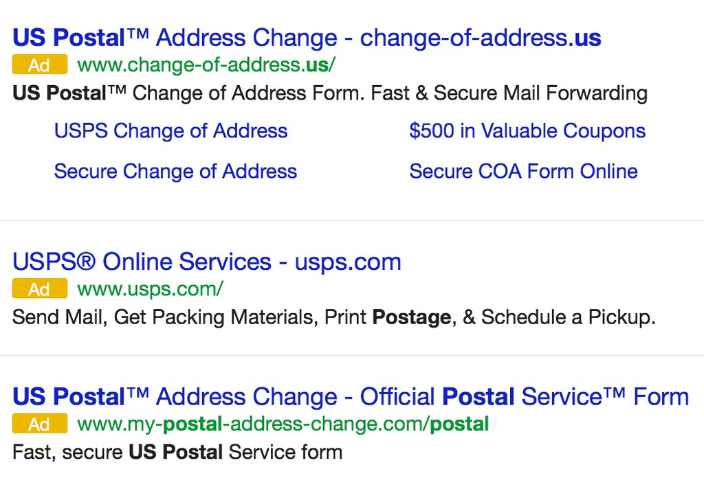 There Are Many Scam Companies That A Person Could Easily Mistake As The Post Office