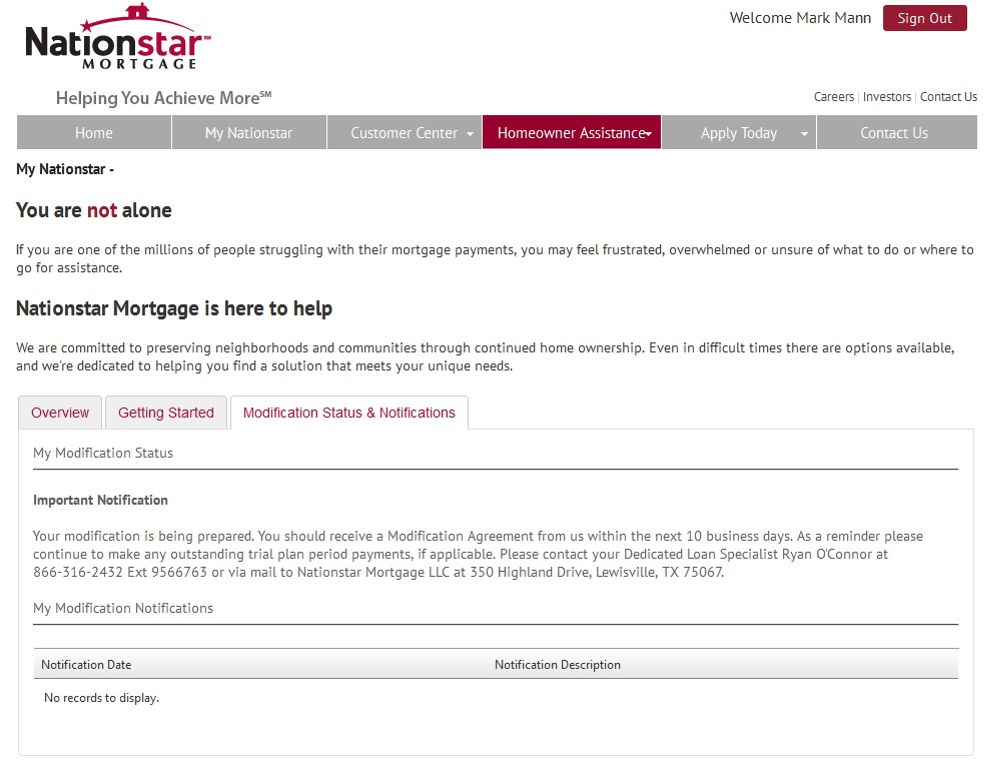 complaints nationstar mortgage payoff