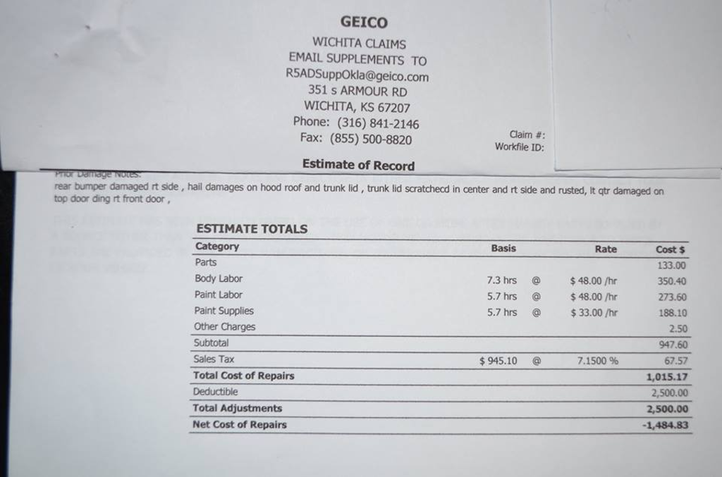 Insurance Policy Insurance Policy Geico