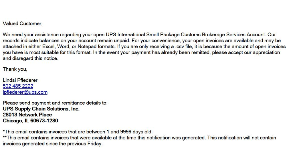 Ripoff Report | UPS and UPS Supply Chain Solutions, Inc. Complaint ...