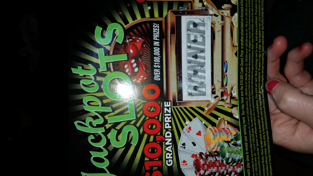 777 jackpot slots scratch off in mail