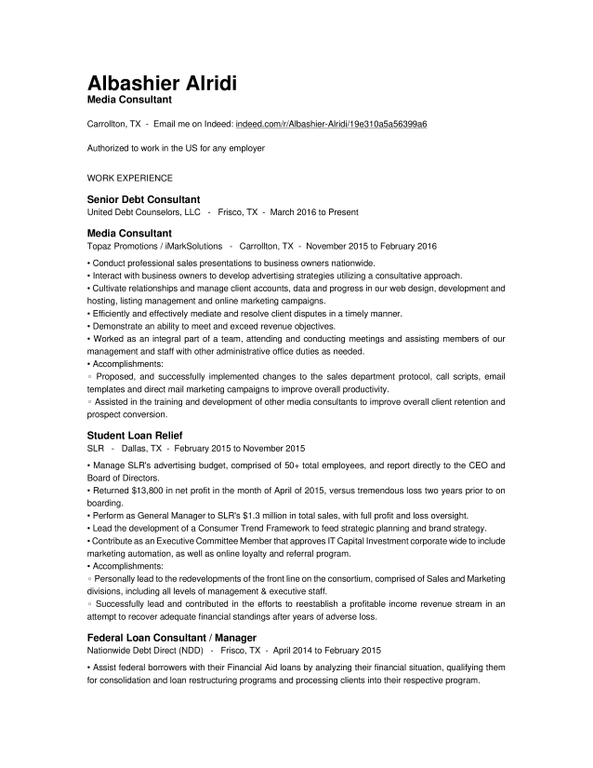Say computer literate resume