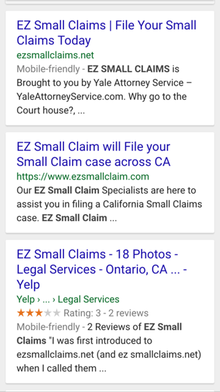 Do you need a lawyer to file a small claim?