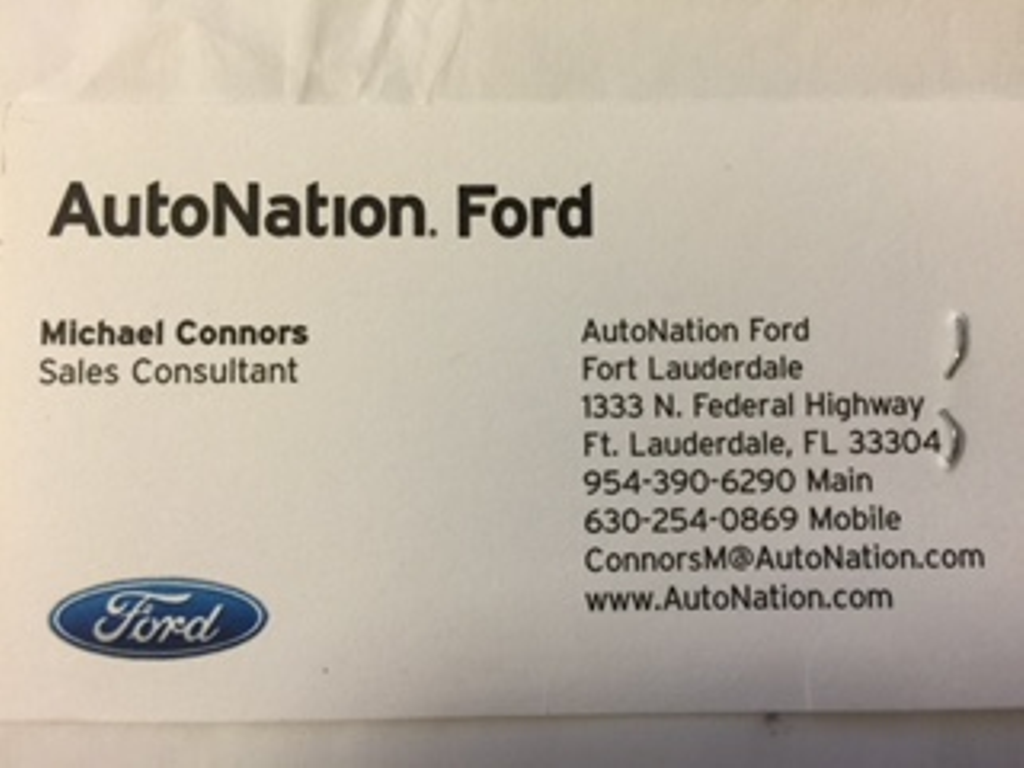 Ripoff Report | AutoNation Ford Fort Lauderdale Complaint Review ...