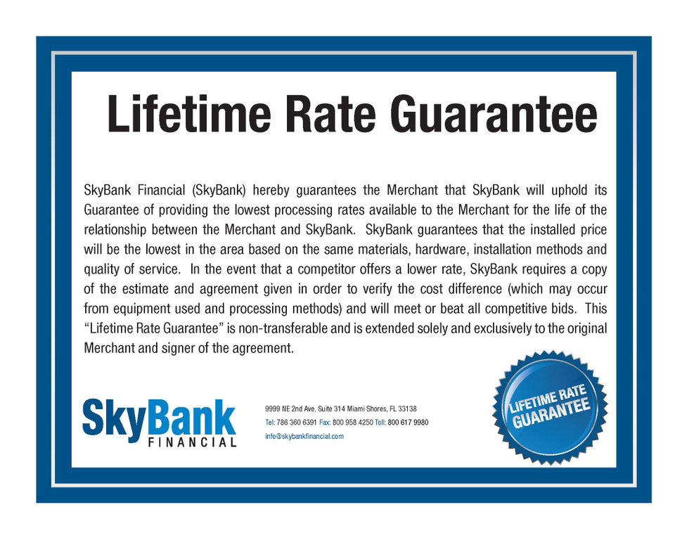 Sky Bank Financial Credit Card Review - Nationwide - Ripoff Report