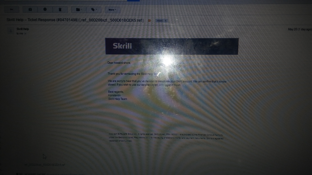 skrill customer service phone number