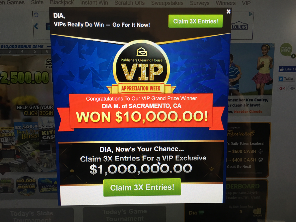 Publishers Clearing House Review - Internet - Ripoff Report