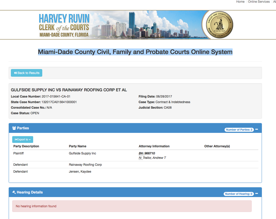 Ripoff Report Rainaway Roofing Complaint Review Miami