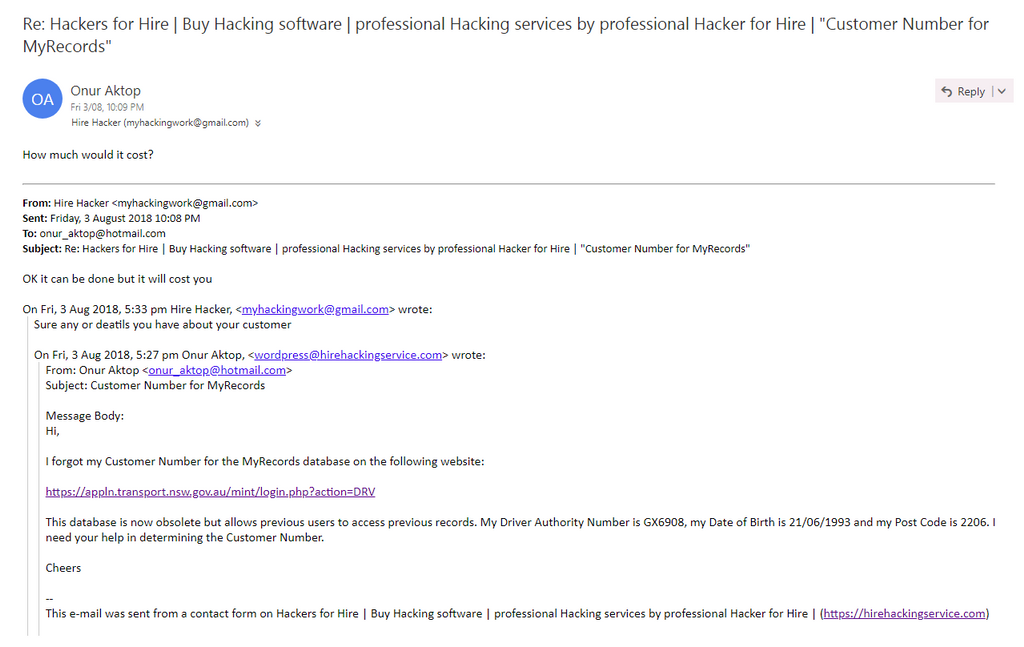 Ripoff Report > HACKERS FOR HIRE Review - Hackers for hire