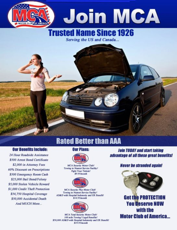 Working With Motor Club Of America Quotes